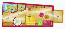 """Im Juchhe"" family suite Plan"