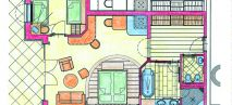 Bergwelt suite Plan