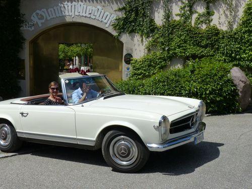 Urlaub mit Mietoldtimer in Südtirol | 7 ÜN