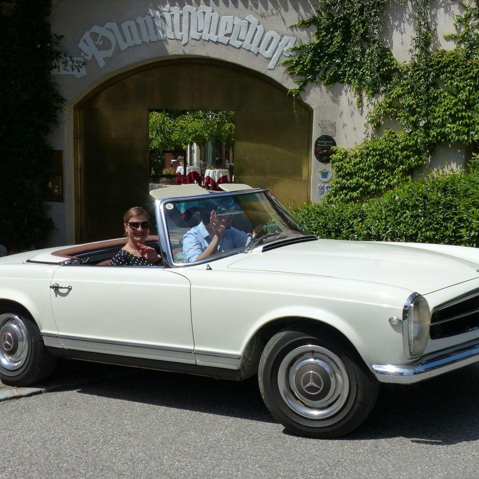 Urlaub mit Mietoldtimer in Südtirol