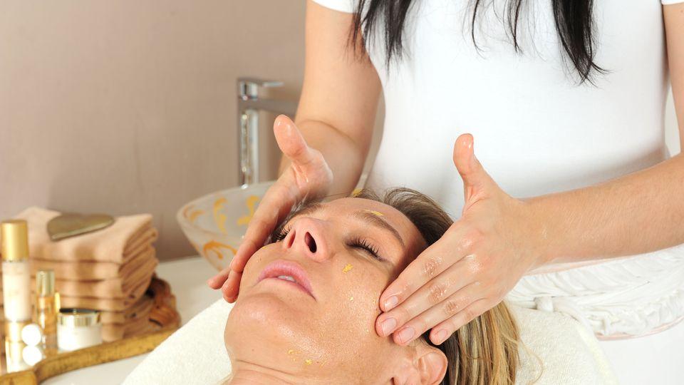 Massaggio escluivo al viso