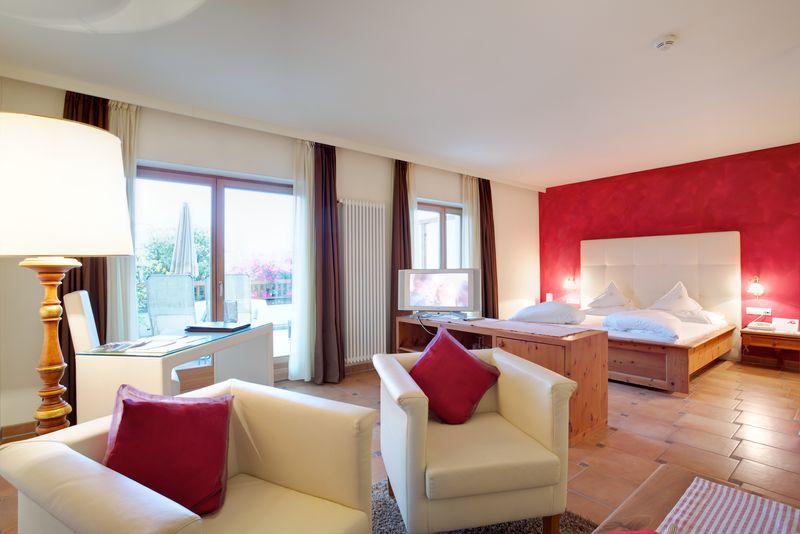 - Luxuriöse Zweiraum-Suite