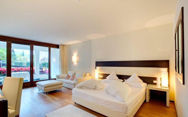 Elegante Garten-Suite