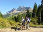 Biken & Wellness in den Dolomiten