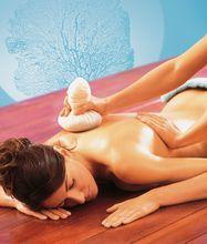 Warm Herbal Stamp Massage