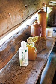 Massage facial au miel Alpienne