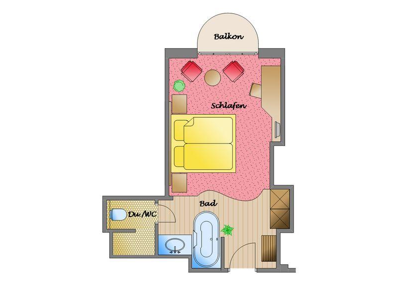 Zum Kurfürsten - MaXX-Living Doppelzimmer