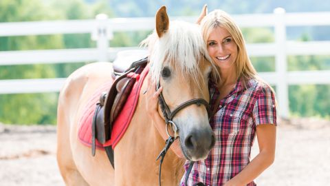 Equitazione su pony