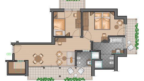 "Family Suite ""Sapphire"""