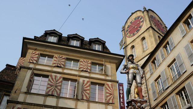 L'Aubier, Café-Hôtel