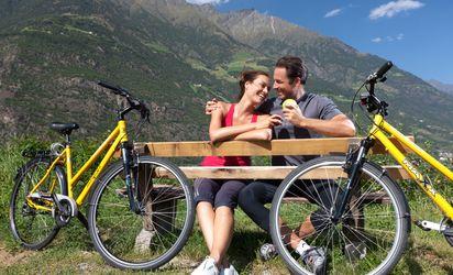 Tour in mountainbike, con le bici da corsa o le citybike dell'hotel