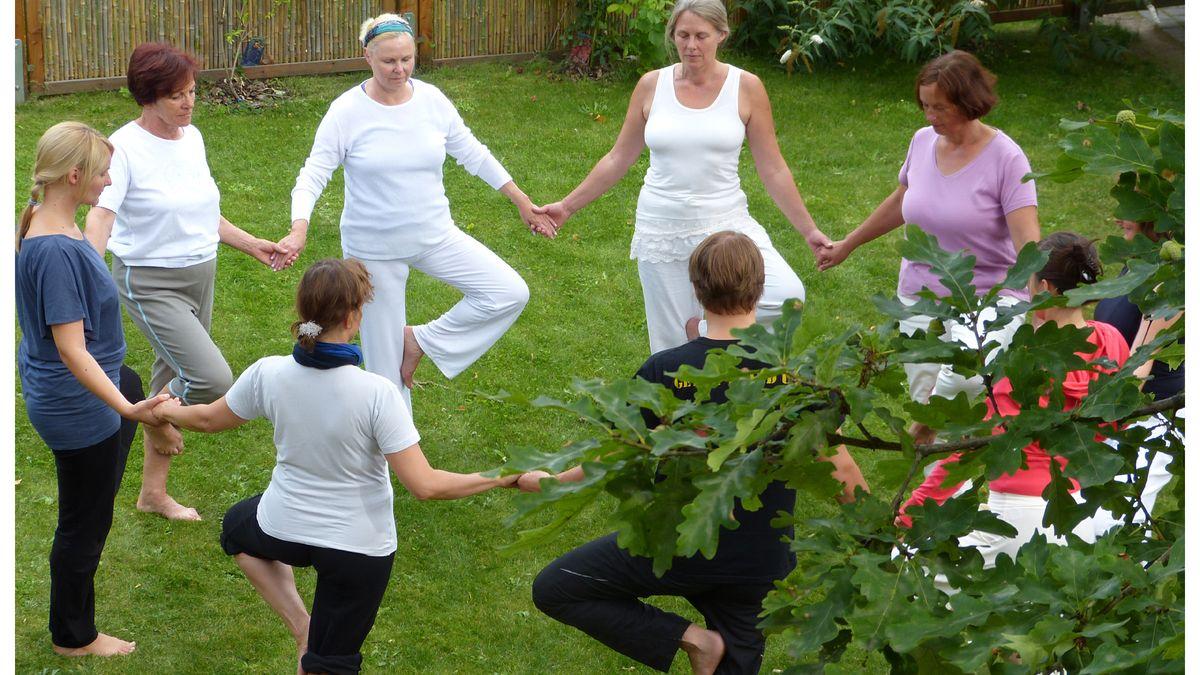 Sommer-Yoga-Woche