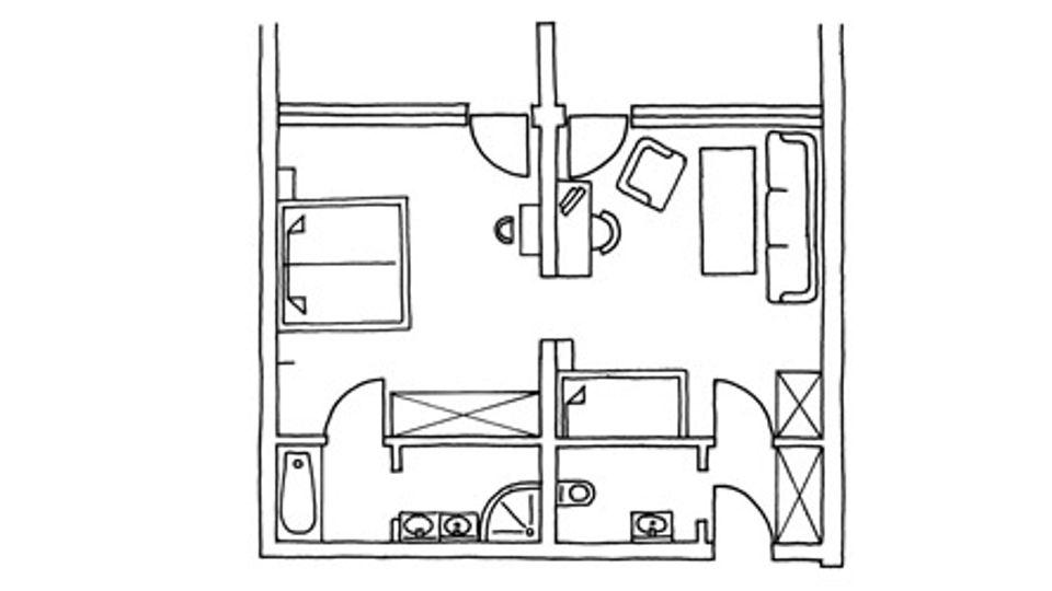Suite Terrasse Talseite