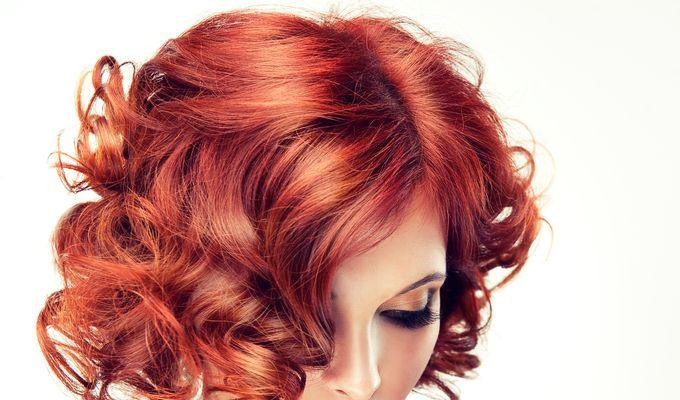 Women's cut - middle long hair