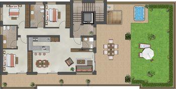 Family Appartement deluxe - Residenz Alpen