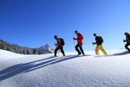 Snow shoe hiking week