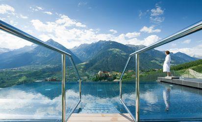 Outdoor salt water pool