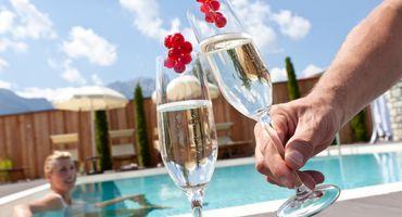 Giorni di puro relax nell'Hubertus con nuovo sky pool