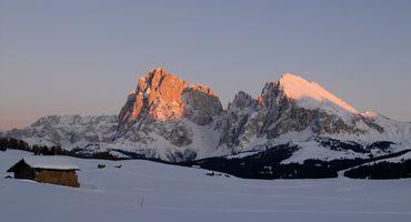 Winter days under the Schlern!