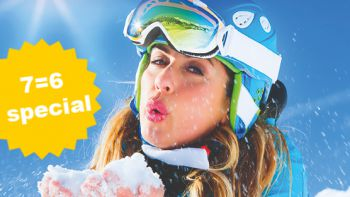 Ski Opening Deluxe 7=6 Special | 1 day & 1 night for free