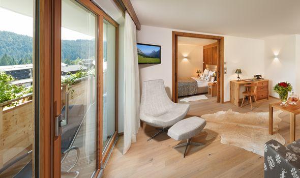 Suite Alpenveilchen II im Quellenhaus