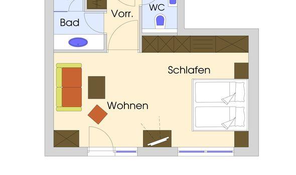 Gartenzimmer im Quellenhaus