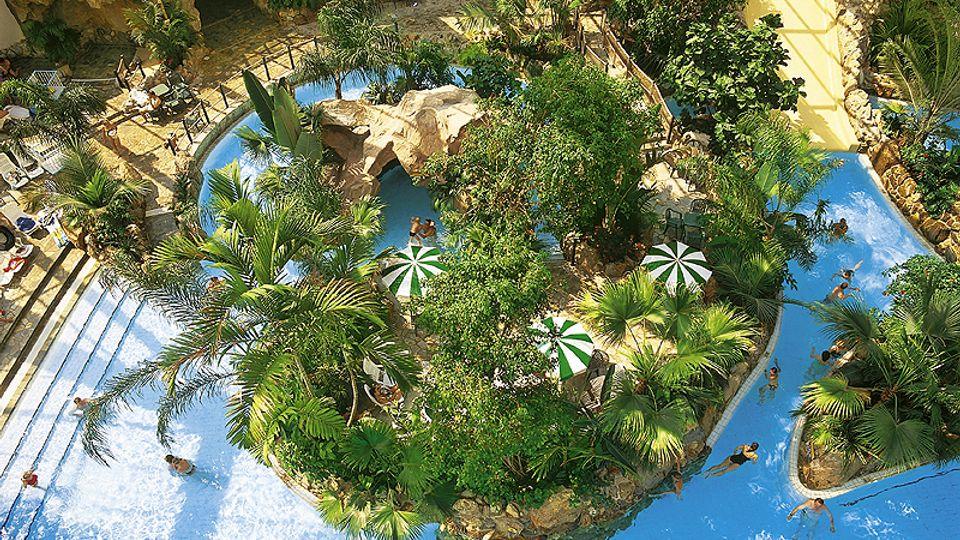 Tropenbad Aqua Mundo im Center Parcs Bispinger Heide.