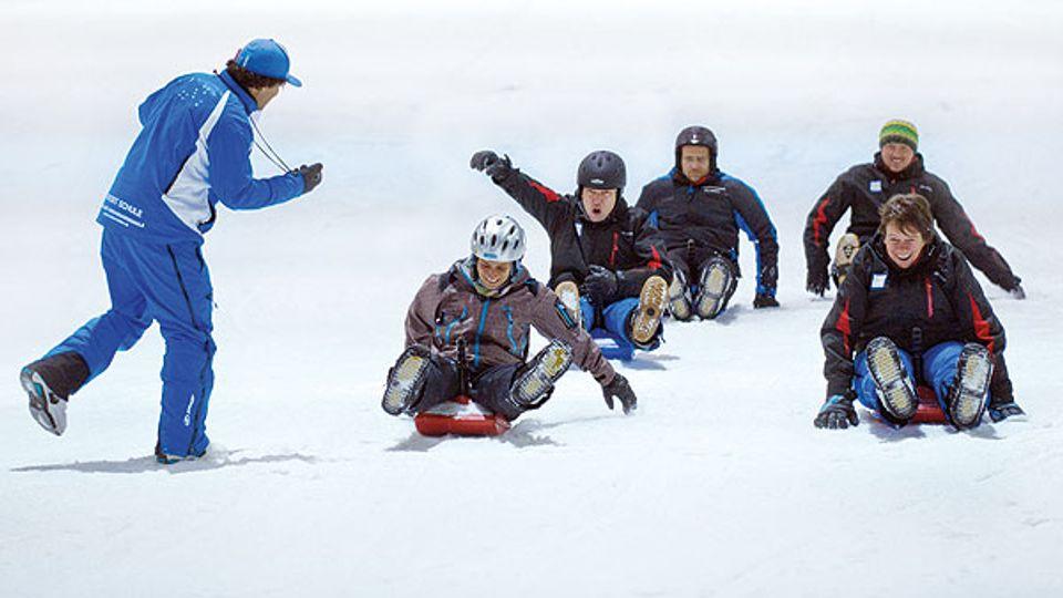 Zipflbob-Rallye im SNOW DOME Bispingen
