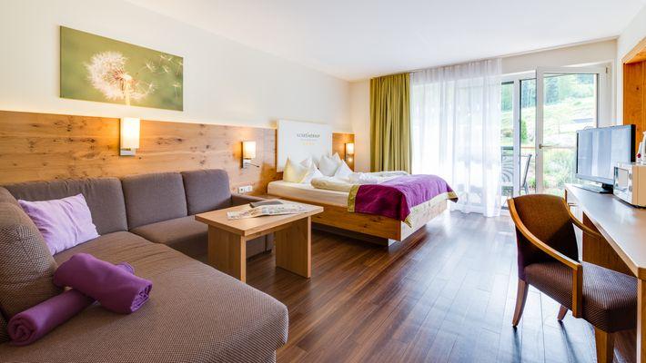 """Hotel Zimmer: Family-Suite """"Superior"""" 2-Raum - Schreinerhof in Schönberg"""