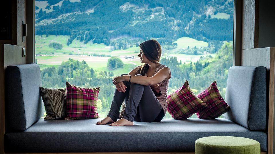 Gipfelstürmer-Suite - Talseite mit Panorama-Rundblick